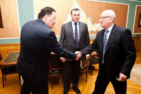 Министр культуры Татарстана ознакомился с ходом подготовки к Всероссийскому сельскому Сабантую