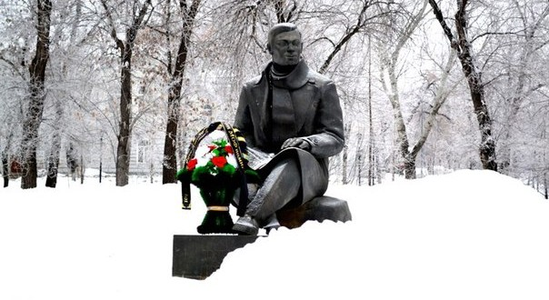 В Оренбурге почтили память поэта антифашиста