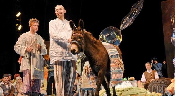 В камаловском — Ходжа Насретдин