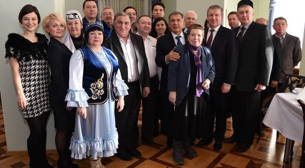 R. Minnikhanov met with representatives of the Tatar community of Karelia