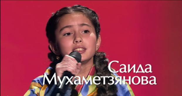 "Vote April 10 LIVE ""GOLOS.DETI"" for Saida Mukhametzyanova!"