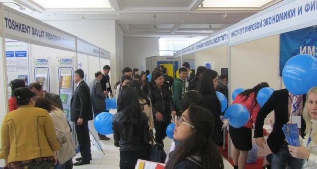 Казанский технологический университет на образовательной выставке в Ташкенте
