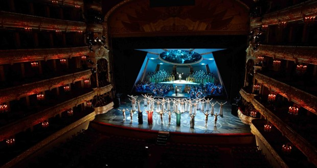Tatar Opera and Ballet Theatre with great success performed  on the scene of Bolshoi Theatre