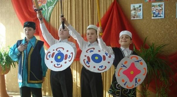 """The town Cheremkhovo hosts children's festival """"Altyn Kyalyapush"""""""