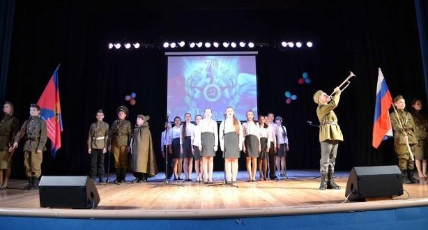 Посвящается 70-летию Победы в Великой Отечественной войне
