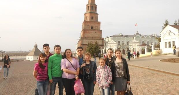 Екатеринбург кунаклары Казанда булып китте