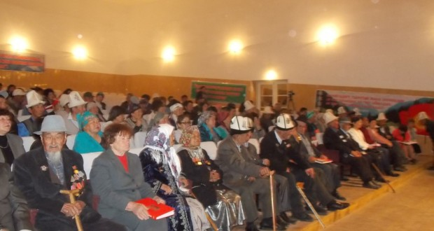 "In Karakol  presentation of the book "" Glory of  the  Victory""  took place"