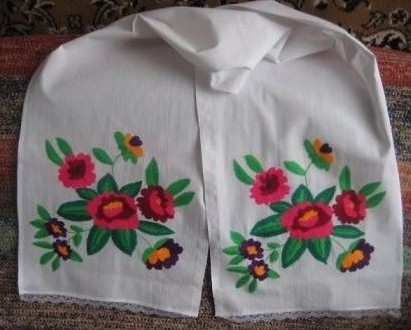 Results of the competition of embroidered towels and handkerchiefs to be held in August