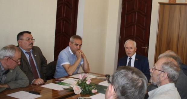 Бөтендөнья татар конгрессы Башкарма комитетында бюро утырышы узды