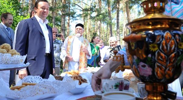 В Ленинградской области отпраздновали Сабантуй