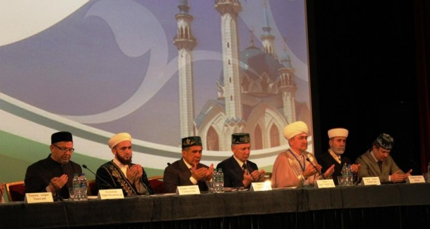 Rustam Minnikhanov addressed the VI All-Russian Forum of Tatar religious leaders in Kazan