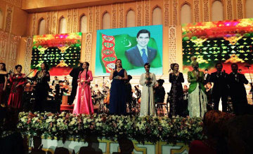 Музыка Салиха Сайдашева звучала в Туркменистане