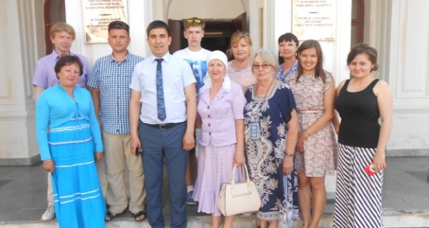Волгоград өлкәсе татарлары Казанда