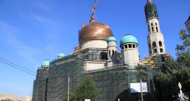 In September, after the renovation and expansion Moscow Cathedral Mosque open its doors
