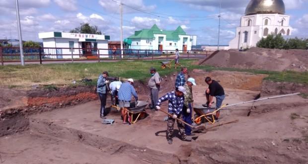 В Болгаре ведутся археологические раскопки древнего рынка и фортификационных сооружений