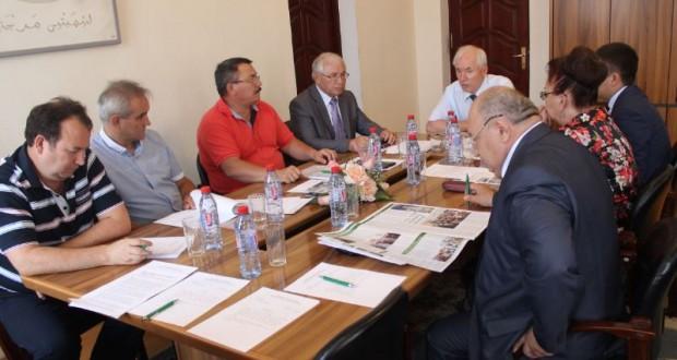 Бөтендөнья татар конгрессы Башкарма комитетының Бюро утырышы узды