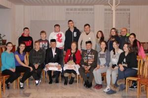 первый слет молодых татар Семея Мирас, почетный гость - Габдулгазиз Ахмеров