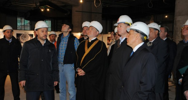 Rustam Minnikhanov visited a new complex of the Moscow Cathedral Mosque