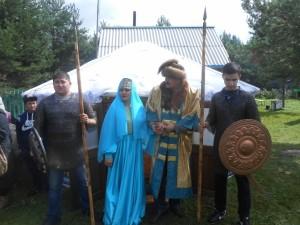 Күчем-хан һәм Сүзге-ханбикә нүкерләре белән