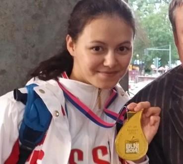 Татарская синхронистка Лилия Низамова выиграла золото ЧМ в Казани