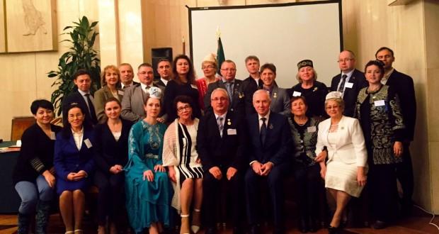 16-18 октябрь көннәрендә Франциянең Париж шәһәрендә «Европа татарлары альянсы»ның икенче съезды узды
