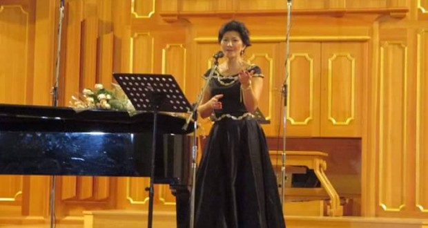 Концерт Ф.Халдаровой в Ташкенте