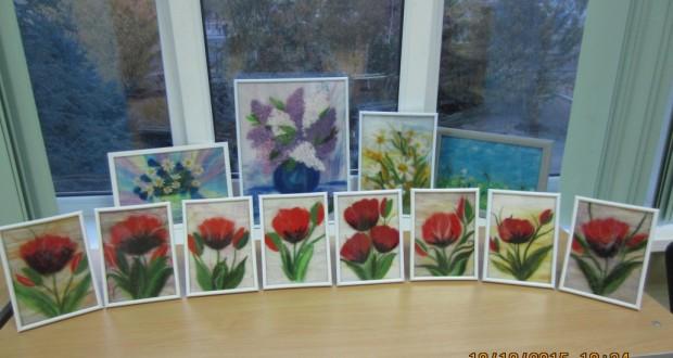 Украшаем татарский дом цветами из войлока