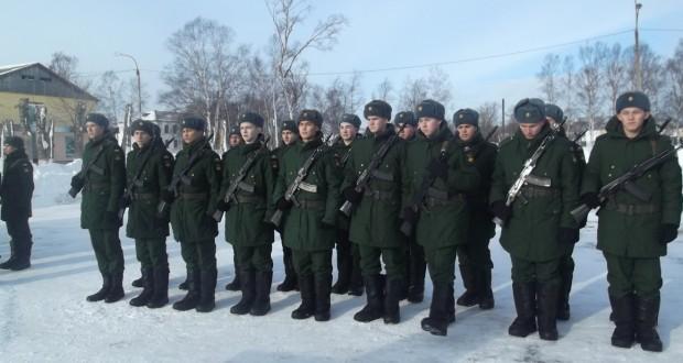 Новобранцы из Татарстана на принятии присяги