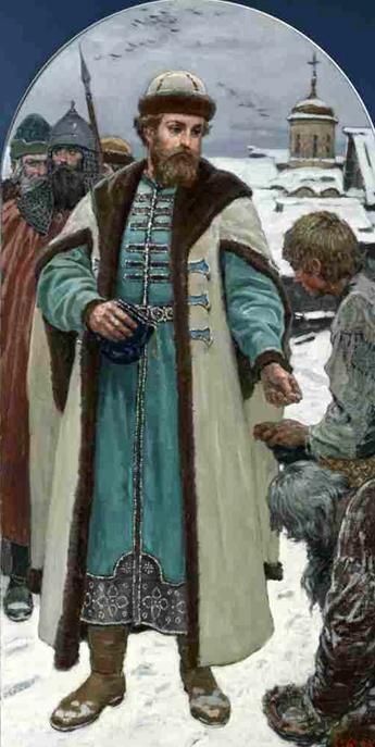 «Иван Калита отличался довольно сдержанным нравом, скопидомством и серостью натуры»