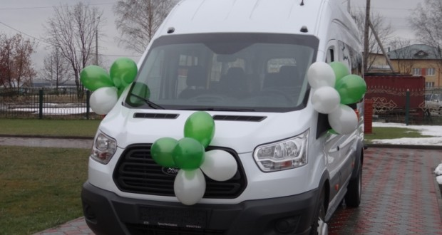 Дому Общины с.Токаево вручен микроавтобус