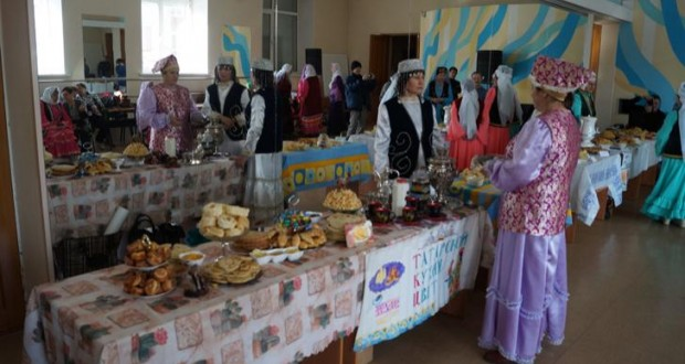 Чак-чак байрам в Усолье-Сибирском