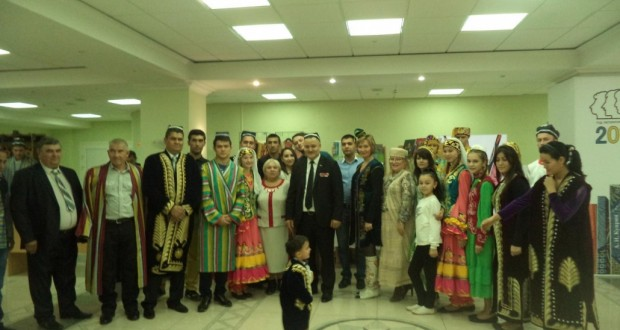 Tatars at the ceremony dedicated to the Day of National Unity of the peoples of the Penza region