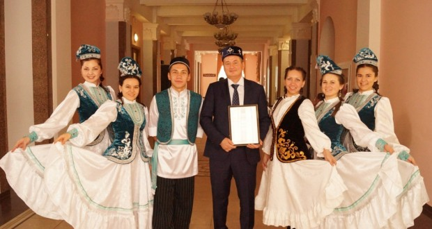 "Orenburg ""Wreath of friendship"" again gathered its friends"