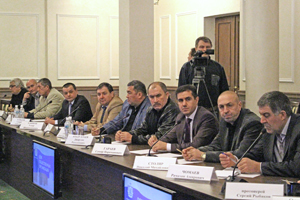 Meeting of the leaders of national Diasporas in Ryazan