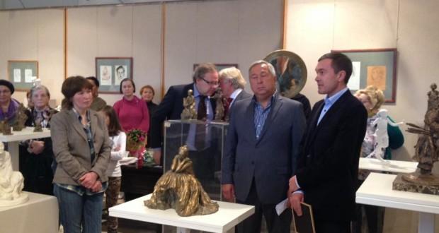 В Санкт Петербурге открылась выставка Винеры Абдуллиной