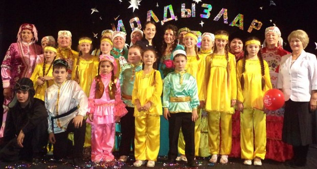 "Ensemble ""Yoldyzlar"" celebrated the 10th anniversary of its founding"