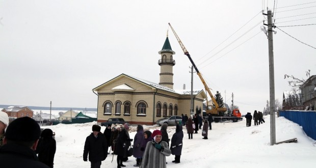 В родной деревне Президента Татарстана готовятся к открытию мечети