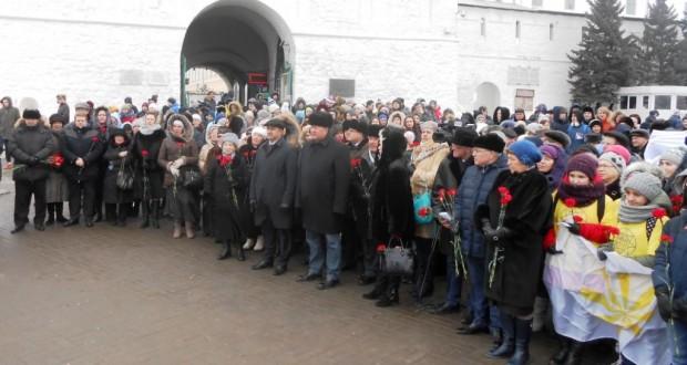 Казанда татар халкының батыр улын искә алырга җыелдылар