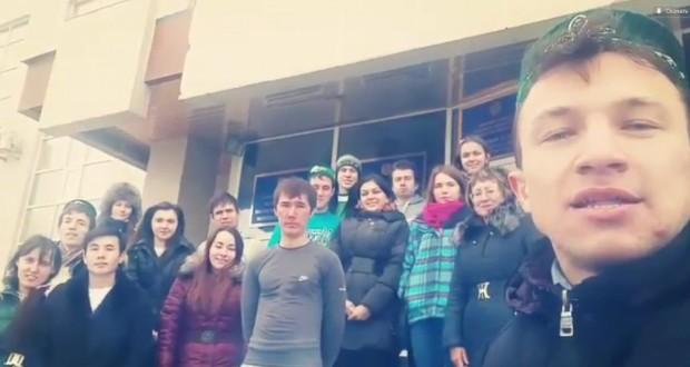 В Казахстане стартовала молодежная видеоэстафета «Привет татарам»