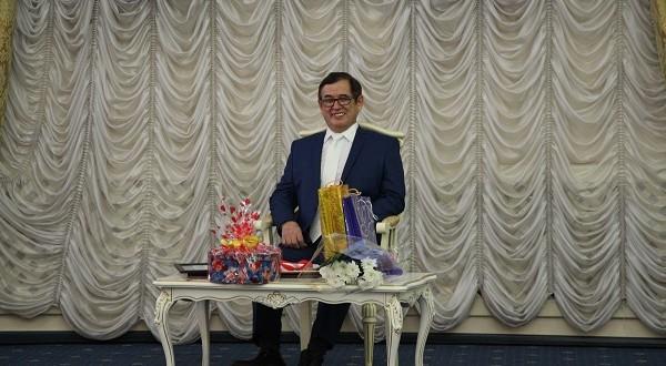 60-летие отпраздновал баянист Гайнутдин Ташимов из Павлодара