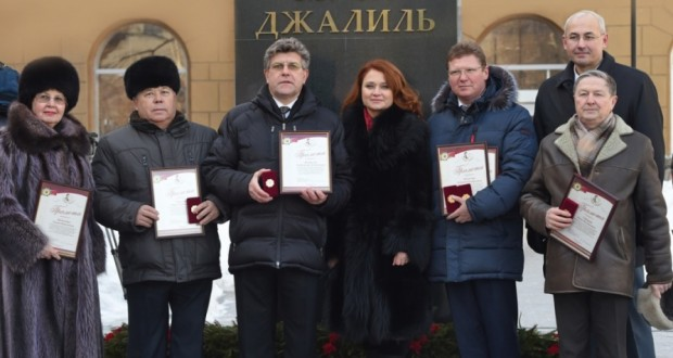 A tribute to the Poet and Citizen solemnly paid at the center of Chelyabinsk