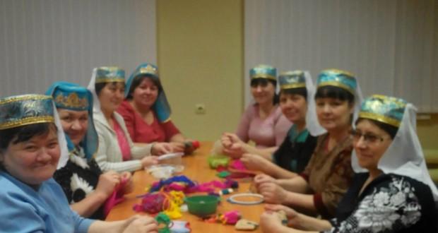 В Старом Кадеево организовали свой «Ак калфак»