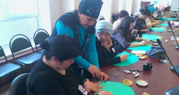 Самарский «Ак калфак» проводит мастер-класс