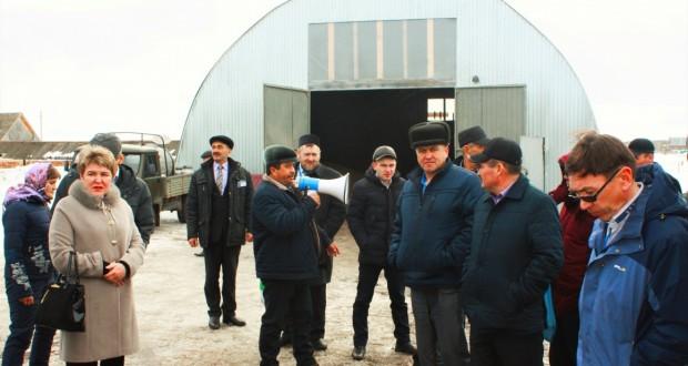 Татар авыллары эшмәкәрләре Теләче районына сәфәр кылдылар