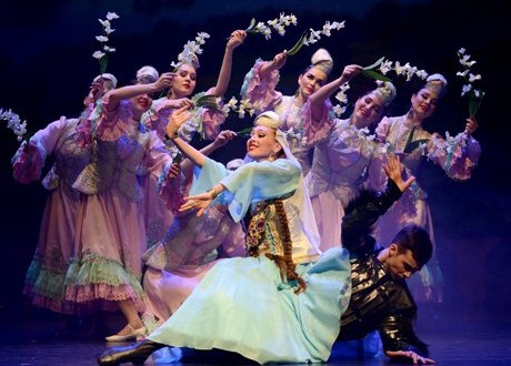 """The work of the ensemble """"Kazan"""" in harmony with the ideology of the brand """"Heritage of Tatarstan"""""""