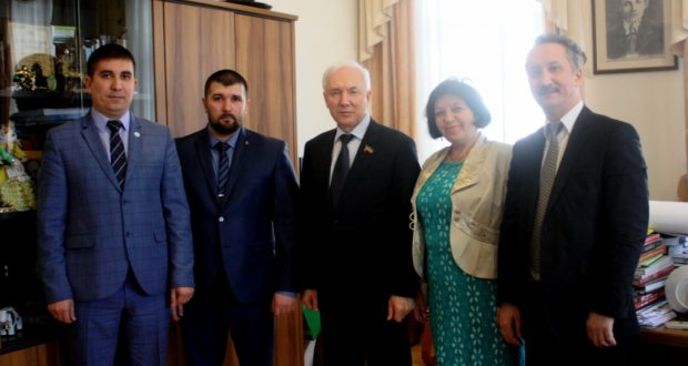 Rinat Zakirov met with the delegation of the Sakhalin Tatars