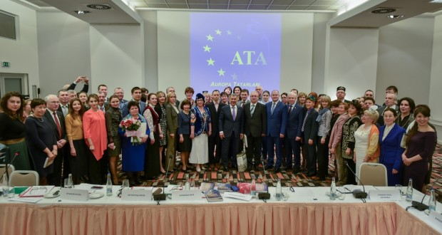 "At an enlarged meeting of the ""European Alliance of Tatars"" a final resolution adopted"