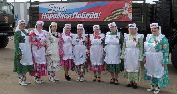 Зур Сәрдек авылы «Ак калфагы» Җиңү бәйрәмендә концерт бирде