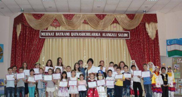 VI городской конкурс детского рисунка «Мир глазами детей» в Ташкенте