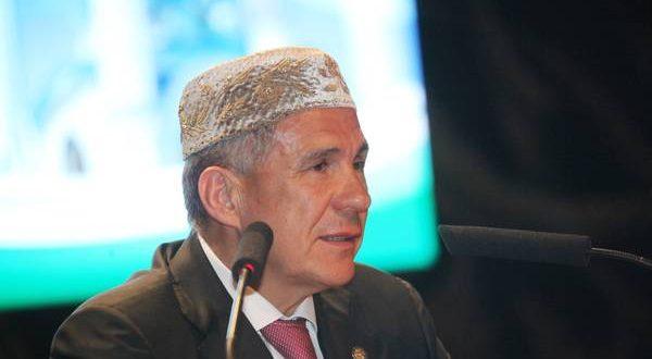 Рустам Минниханов на Всероссийском форуме татарских религиозных деятелей: Этот год войдет в историю, завтра в Болгаре будет заложена капсула в основание исламской академии